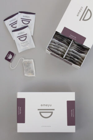 Empiric Sky organic Chai tea, sweet and spicy, 50 cotton teabags in a sustainable and elegant box