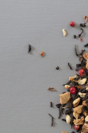 Loose organic Christmas tea quality tea in a sustainable bag