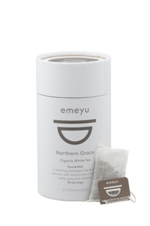 Northern grace organic white tea 20 cotton teabags microplastic-free