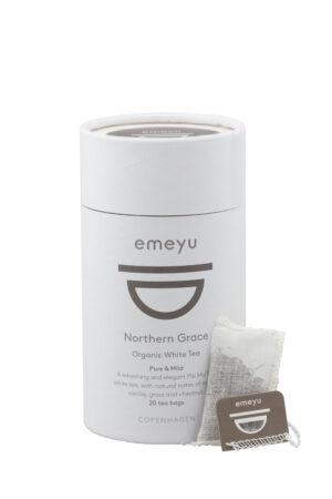 Northern grace organic white tea 20 cotton teabags microplastic-free