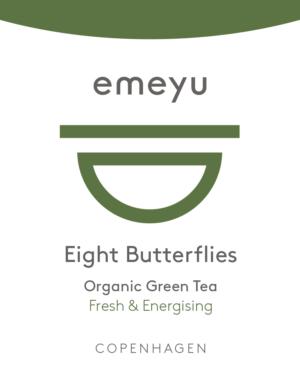 Dette er et billede af tebrevet for Eight Butterflies