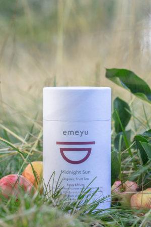 Dette er et billede af vores te, Midnight sun.