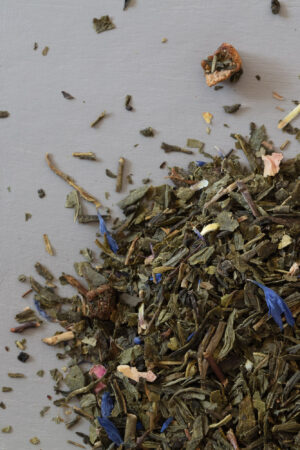 Eight Butterflies organic green tea loose tea