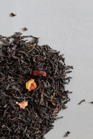 Nordic Reflection organic black tea quince and orange loose tea