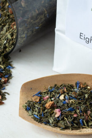 Eight Butterflies økologisk grøn te løs te
