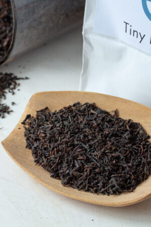 Tiny Kingdom økologisk sort te Earl Grey med bergamotte løs te