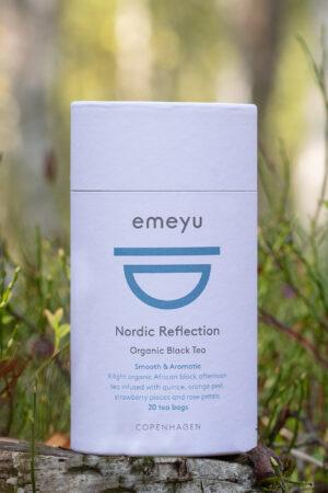 Økologisk Nordic Reflection sort te med kvæde og appelsin i te rør