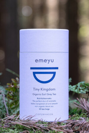 Tiny Kingdom økologisk sort te Earl Grey med bergamotte