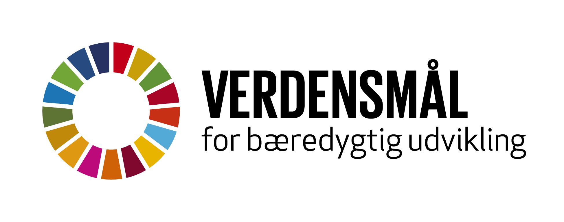 Logo for de 17 verdensmål for bæredygtig udvikling