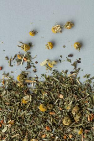 Organic herbal tea mint liquorice caffein-free økologisk urte te mynte lakrids koffein fri