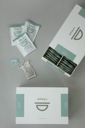 Cozy Mint organic herbal tea peppermint and liquorice caffein free smooth and sweet 50 pcs cotton teabags sustainable