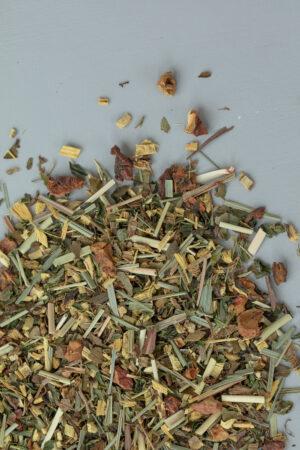 Cozy Mint liquorice mint apple lemongras organic quality herbal tea loose tea