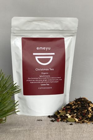 Organic Christmas Tea 80 gr loose tea in sustainable packaging
