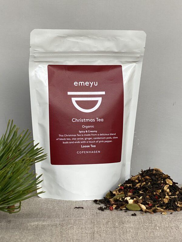 Organic Christmas Tea 80 gr loose tea in sustainable packaging