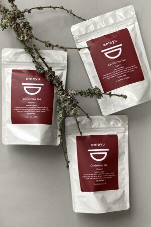 3 bags of 80 gr loose and organic Christmas Tea