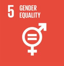 FN's verdensmål 5 ligestilling mellem kønnene, kvinder håndsyr vores bomulds teposer bliver håndsyet på en fabrik i Marokko.